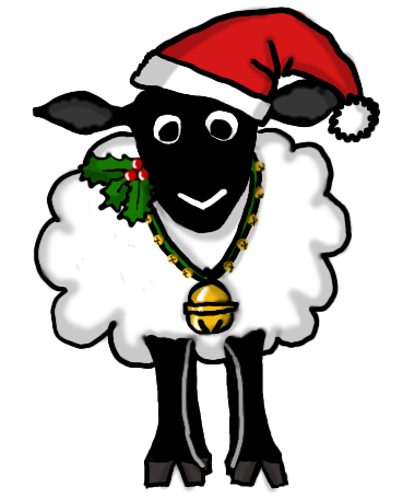 369x456 Christmas Sheep Clipart Sheep Clipart Christmas Pencil And
