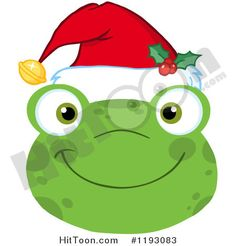 236x246 Hoppy Christmas Frogs Clip Art Clipart Graphics Commercial Use
