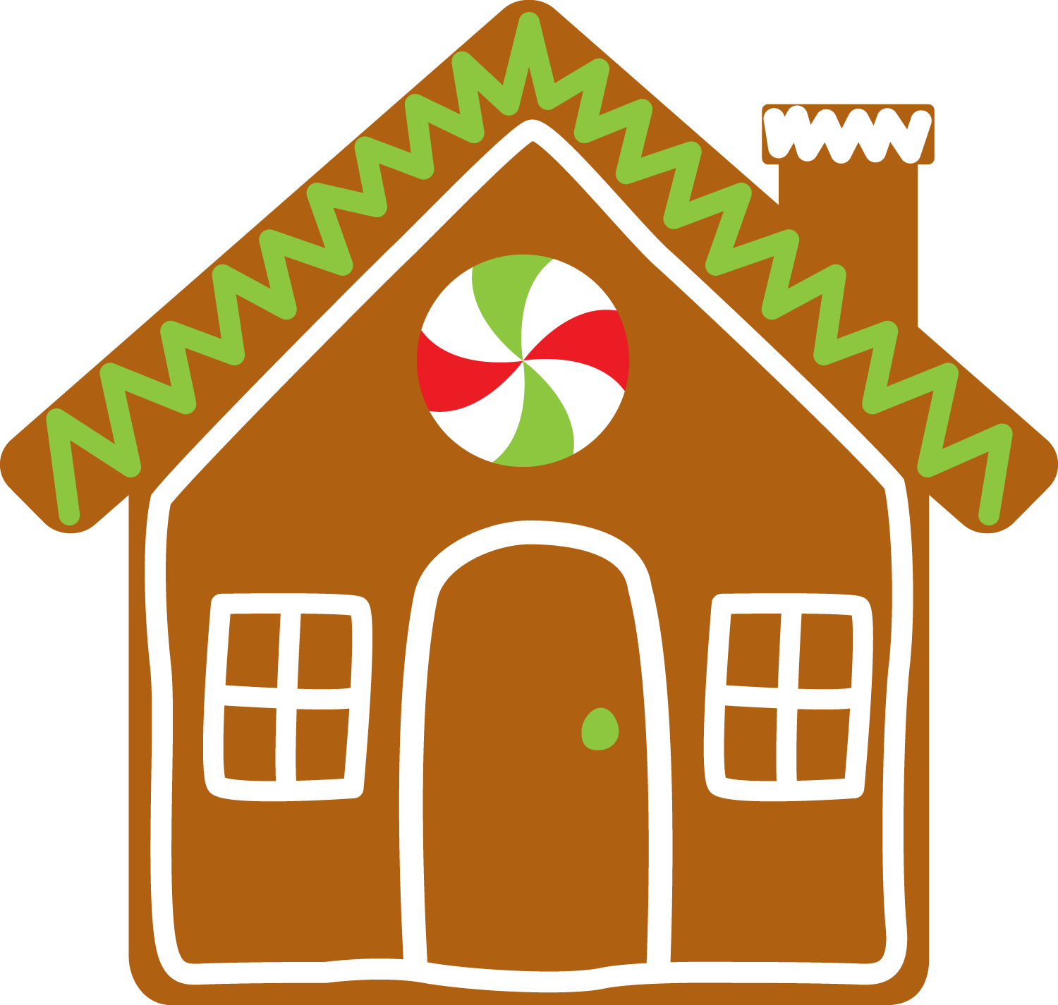1500x1425 Christmas Gingerbread House Clip Art Clip Art