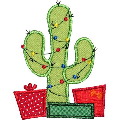 500x500 Christmas Tree Clipart Cactus
