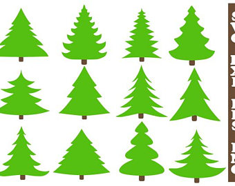 340x270 Christmas Tree Svg Etsy