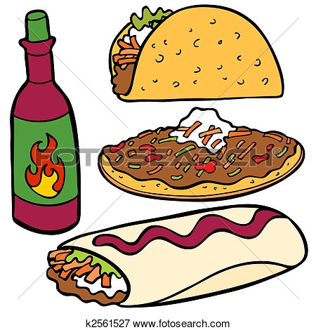 450x470 Mexican Clipart Food