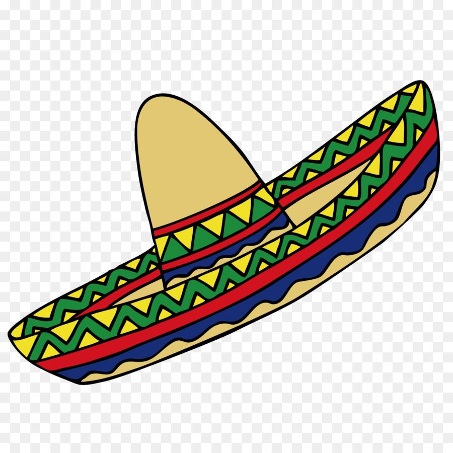 900x900 Mexican Hat Mexico Clip Art