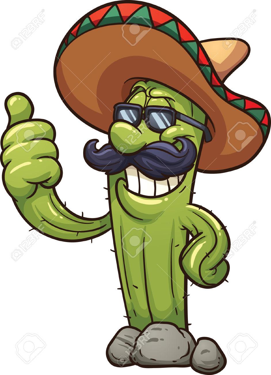 942x1300 New Mexico Cactus Clipart