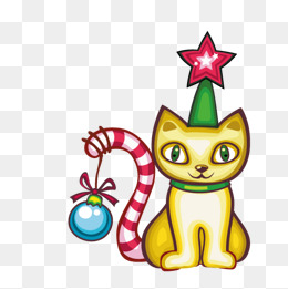 260x261 Christmas Kitten Png, Vectors, Psd, And Clipart For Free Download