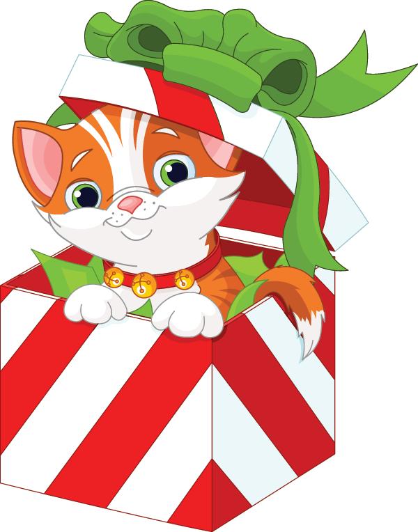 600x764 Kitty Cat Gift Kitten, Cat And Gift
