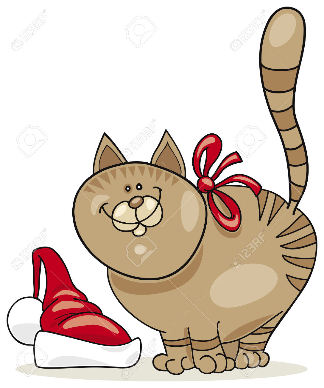 1088x1300 Christmas Cat Clipart Collection