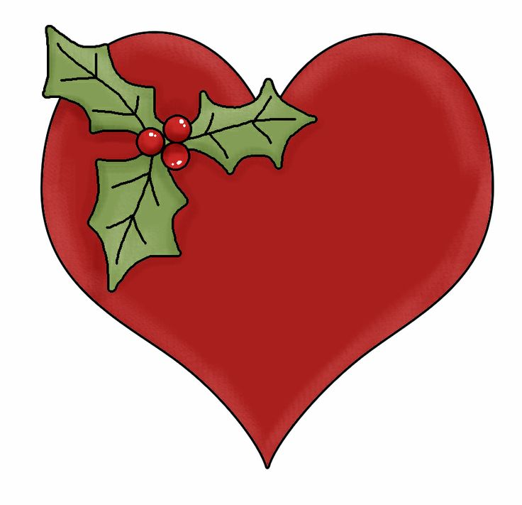 736x711 Christmas Heart Clipart Fun For Christmas