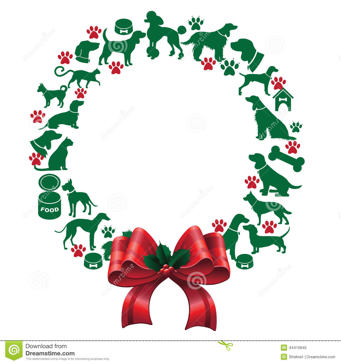 1300x1388 Clip Art Christmas Wreaths Free Clipart Collection