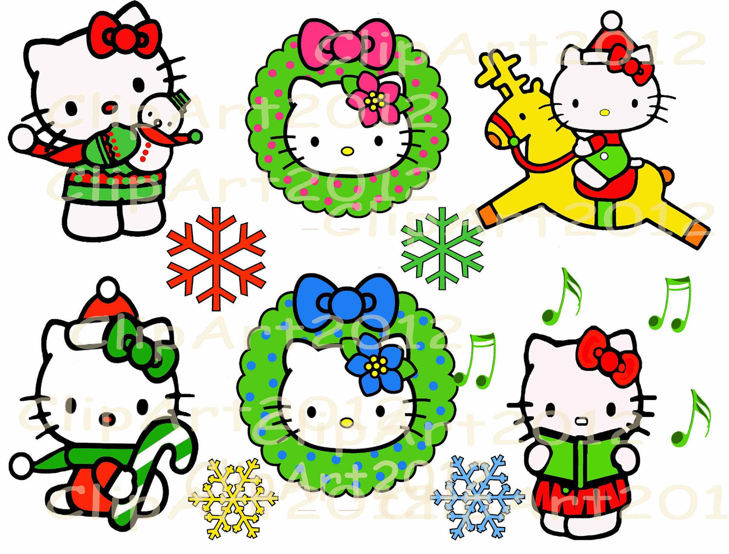 Christmas Kitty Clipart at GetDrawings.com | Free for personal use ...