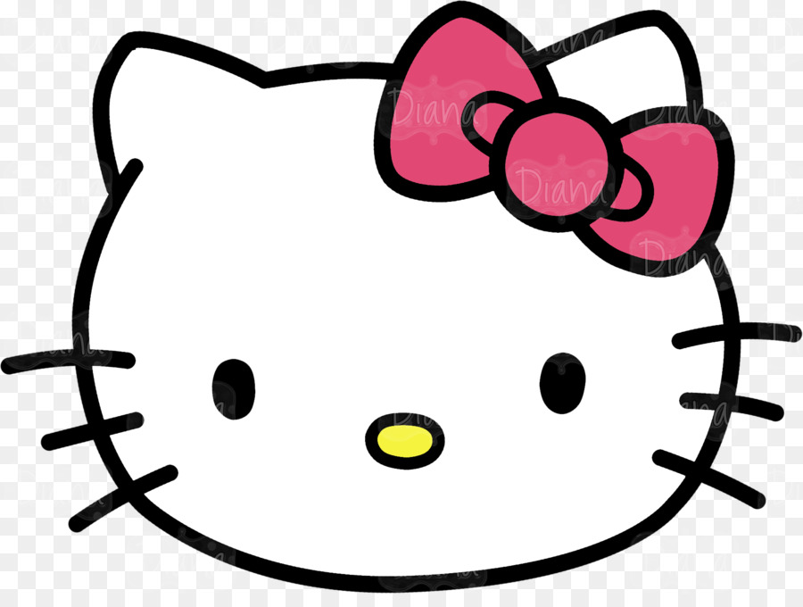 900x680 Hello Kitty Kitten Cat Clip Art