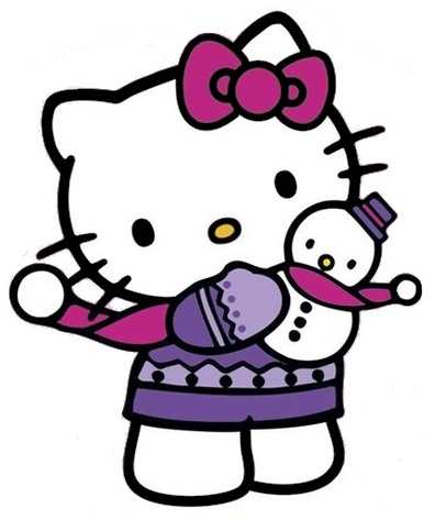 396x473 Hello Kitty Christmas Clipart Working Until 0200 Bout To Clock