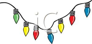 300x143 Christmas Light Clip Art Clipart Panda