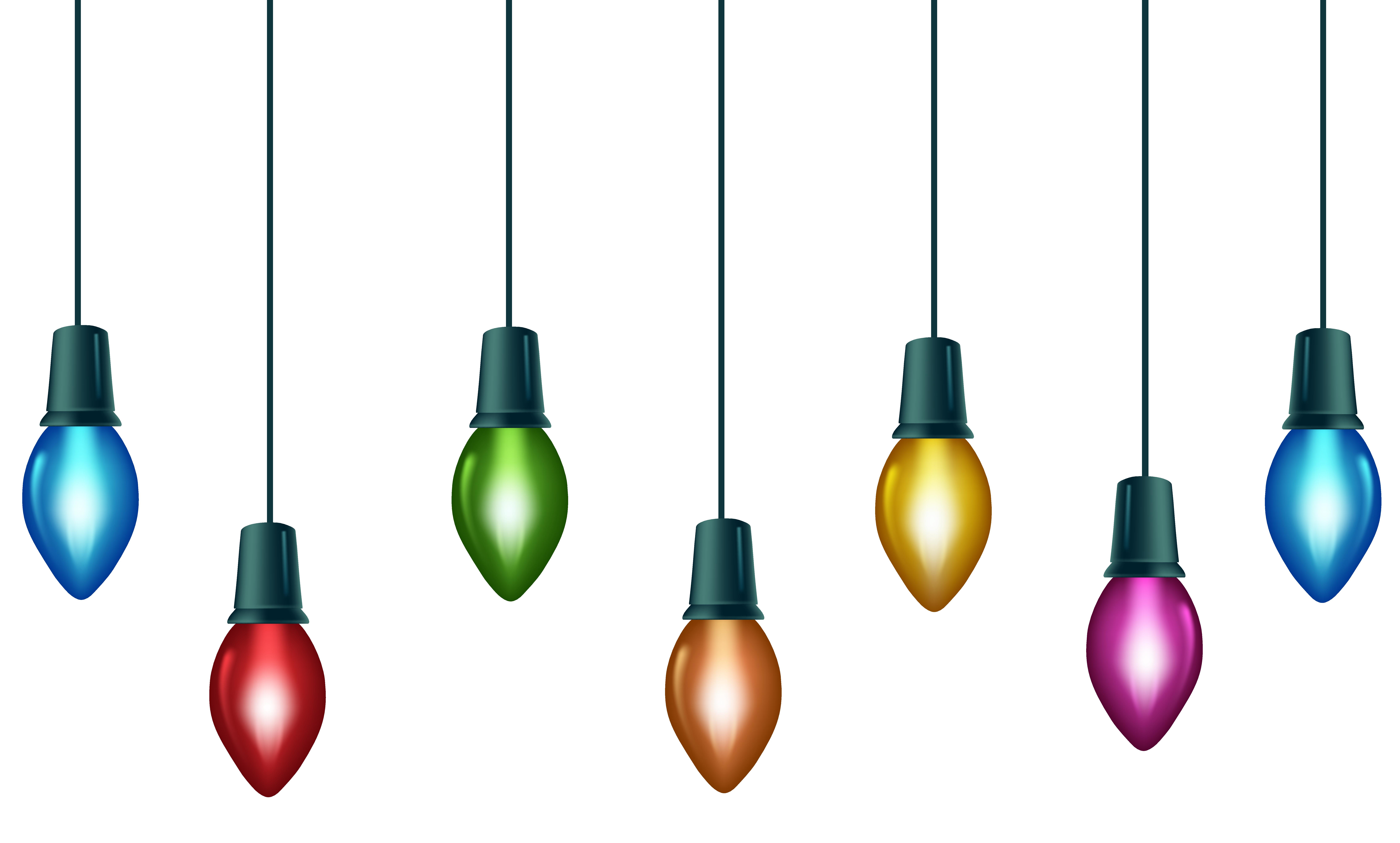 9056x5451 Christmas Colorful Bulbs Png Clip Art Imageu200b Gallery