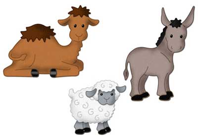 400x276 Sheep Clipart Nativity Animal