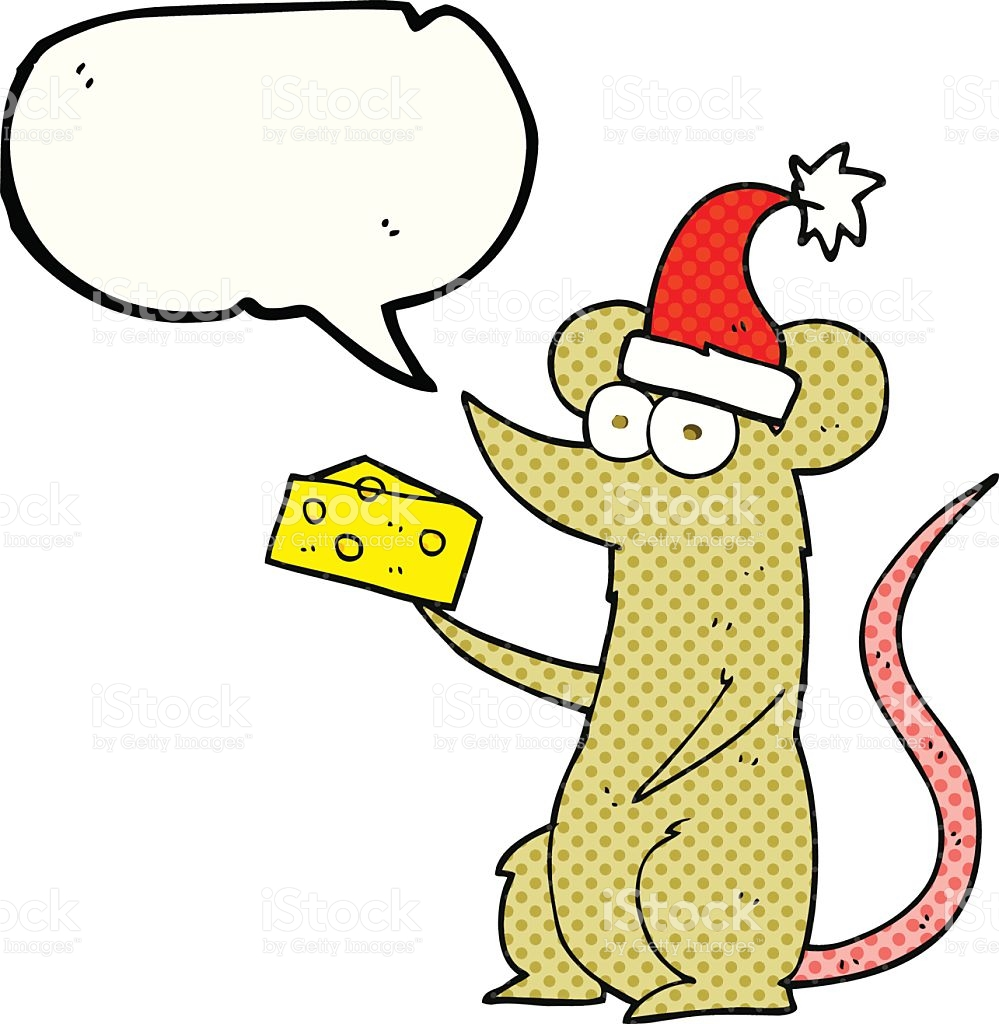 999x1024 Christmas Mouse And Cheese Clipart