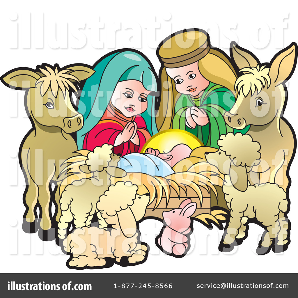 1024x1024 Clip Art Nativity Scene Clip Art
