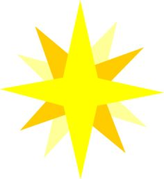 236x258 Nativity Star Clipart