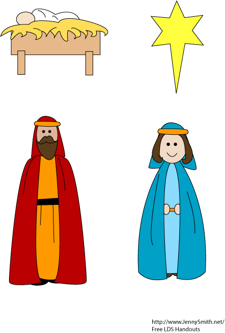 442x655 Collection Of Lds Nativity Clipart High Quality, Free