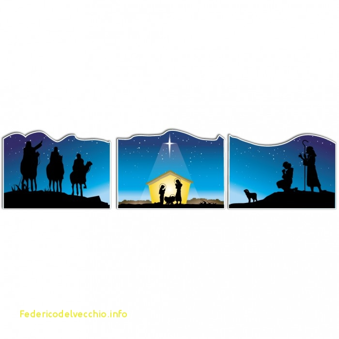 700x700 Nativity Scene Silhouette Template Cool Nativity Silhouette Clip