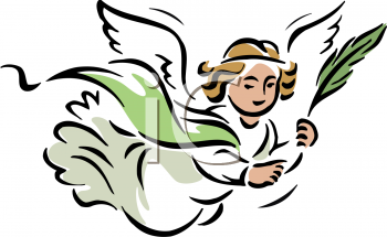 350x215 Angel Clipart
