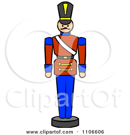 450x470 Clipart Christmas Nutcracker Toy Soldier