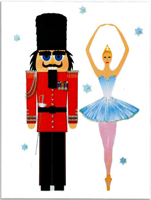 493x653 Nutcracker Christmas Cards Boxed Note Cards Made In Usa! Handmade