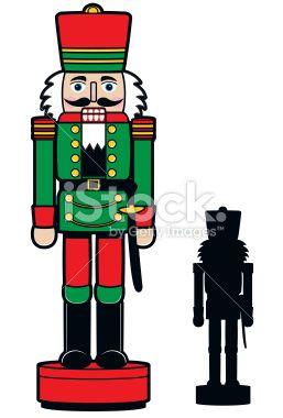 257x380 Christmas Nutcracker Amp Silhouette Royalty Free Stock Vector Art
