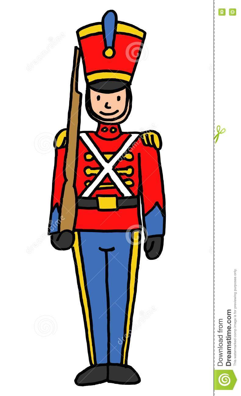 791x1300 Christmas Soldier Clipart