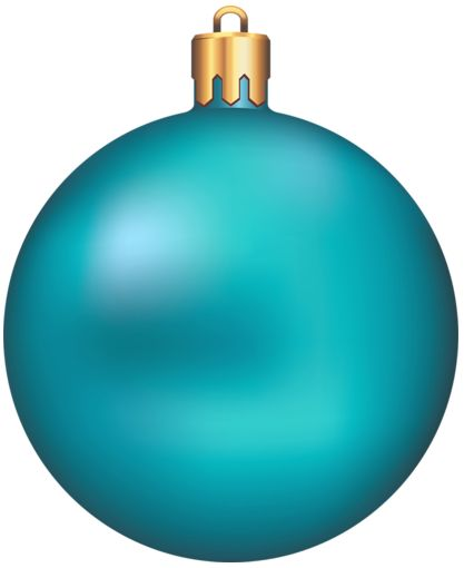 417x510 Collection Of Blue Christmas Ornament Clipart High Quality