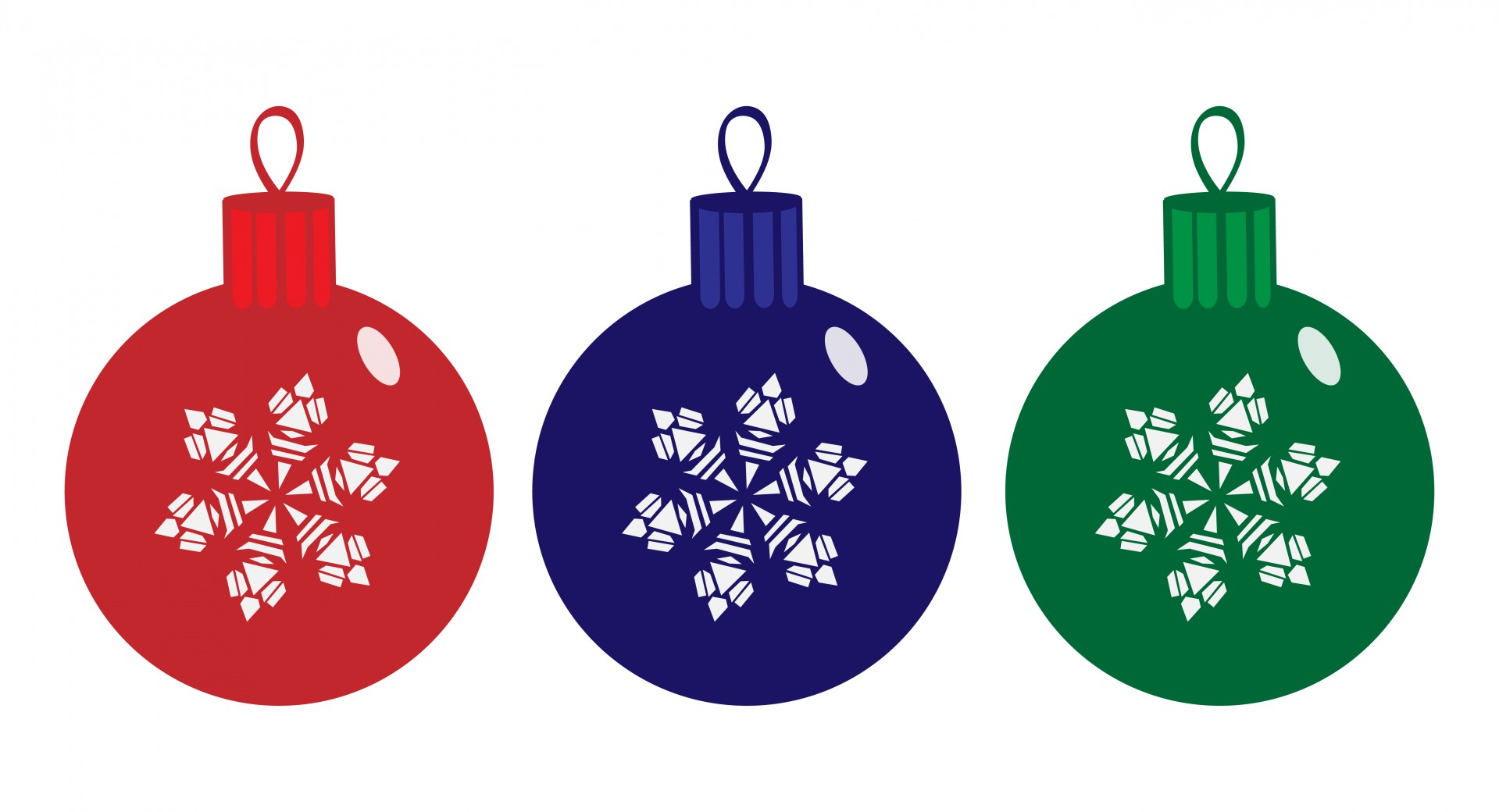 1919x1040 Christmas Baubles Clipart Free Stock Photo