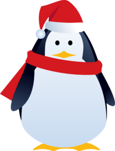 225x296 Christmas Penguin Clip Art Clipart Panda