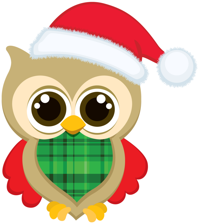 798x900 Owl Christmas Cliparts Free Download Clip Art