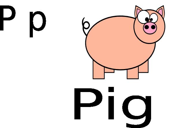 600x445 Pig Clip Art