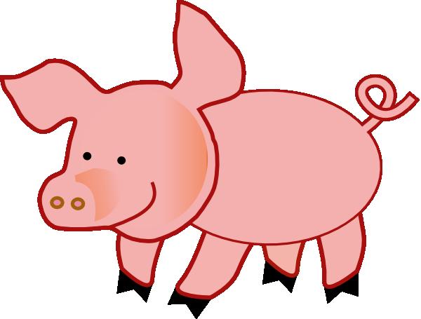 600x455 Small Pig Clip Art Clipart Panda