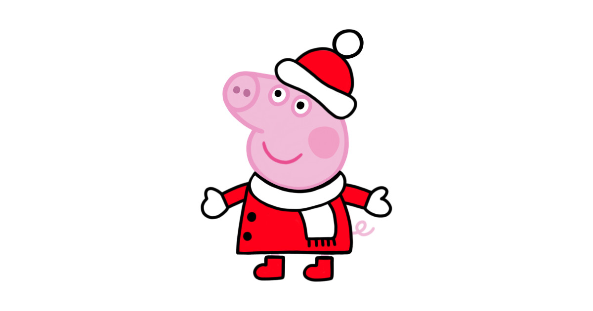1200x630 Collection Of Peppa Pig Christmas Clipart High Quality, Free