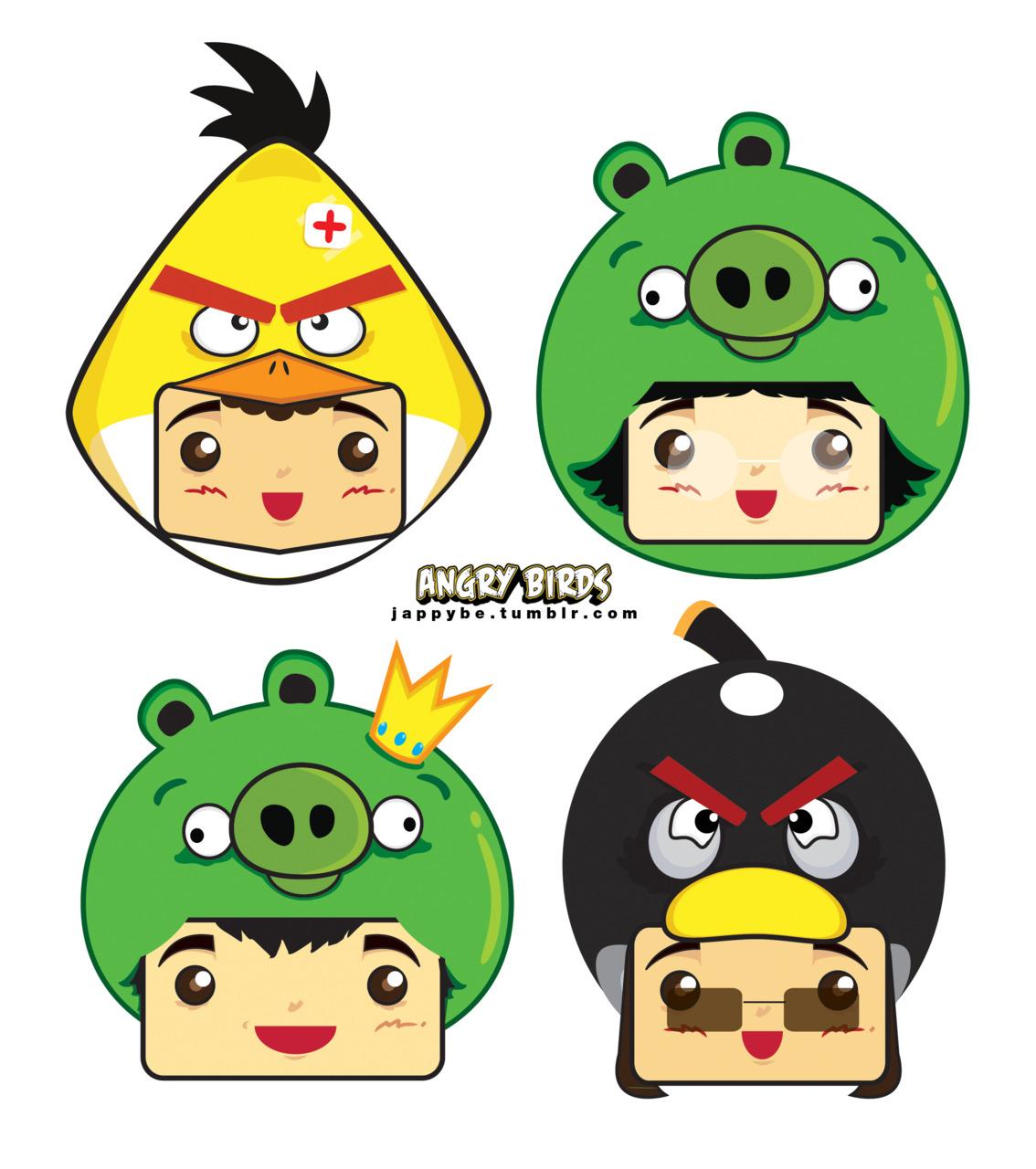 1134x1280 Angry Birds Christmas Clip Art