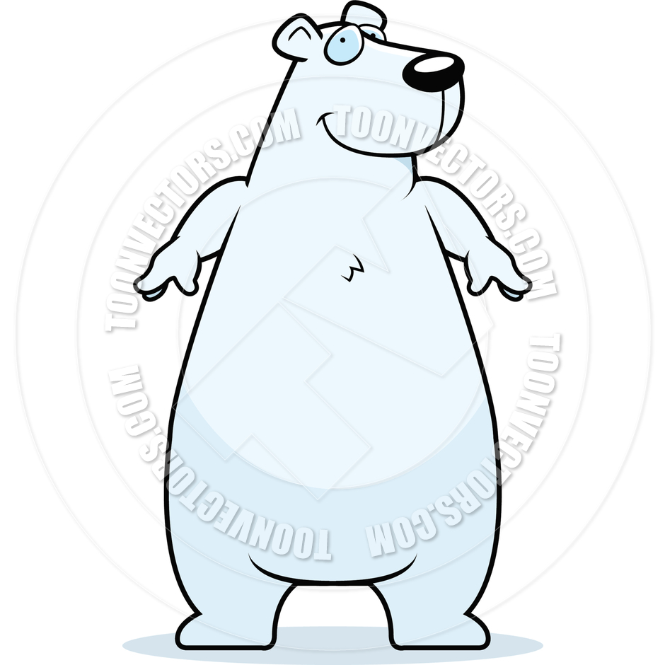 Christmas Polar Bear Clipart