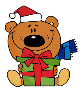 274x300 Christmas Clipart Teddy Bear Free Collection Download And Share