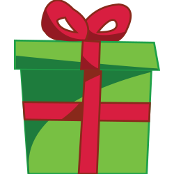 250x250 Gift Clipart Xmas Presents
