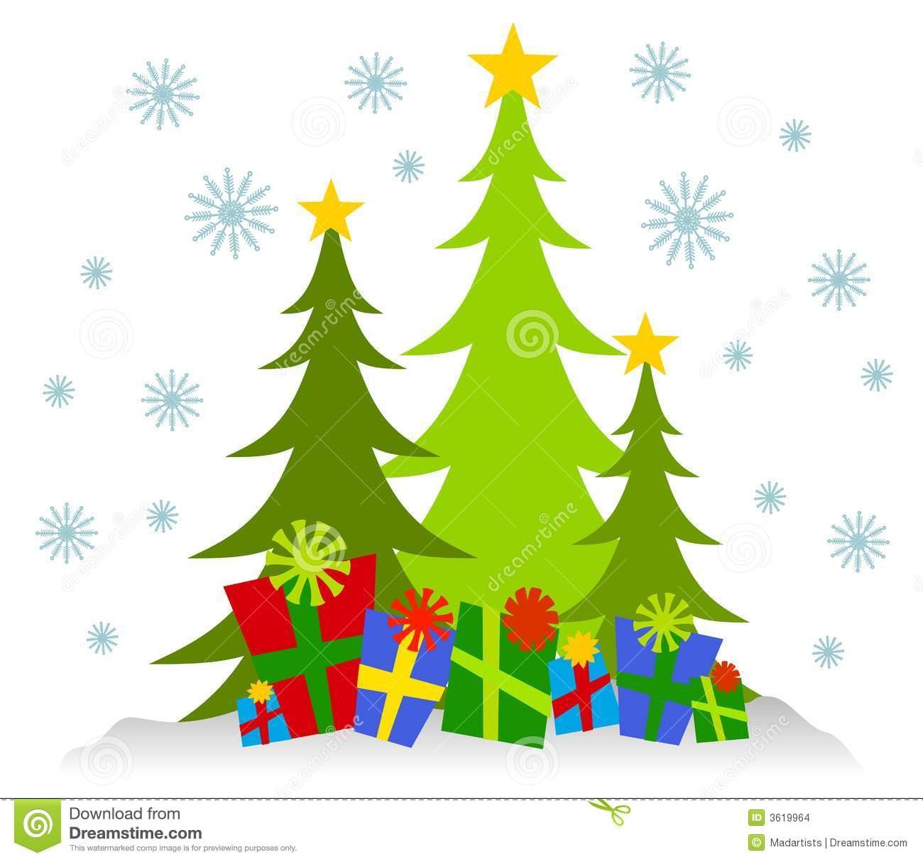Christmas Scene Clipart