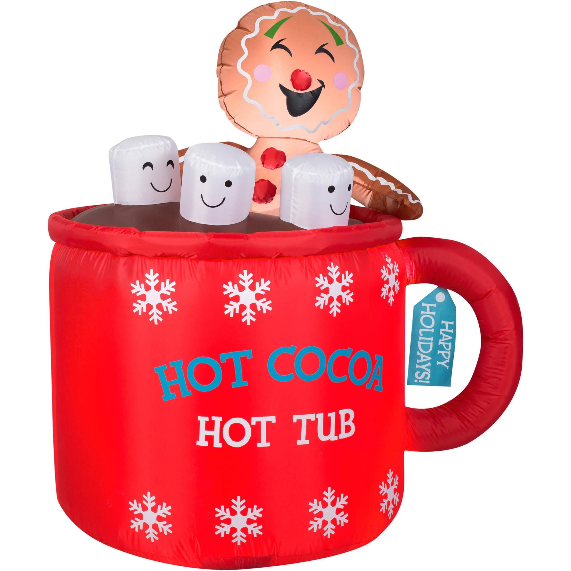 2000x2000 Hot Chocolate Clipart Santa