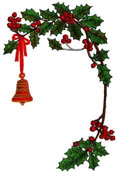 236x349 Vintage Christmas Clip Art