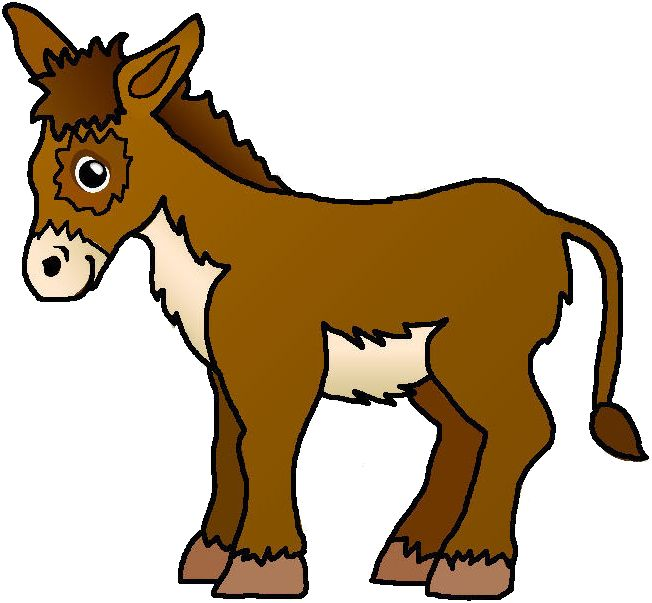 652x603 Collection Of Nativity Donkey Clipart High Quality, Free