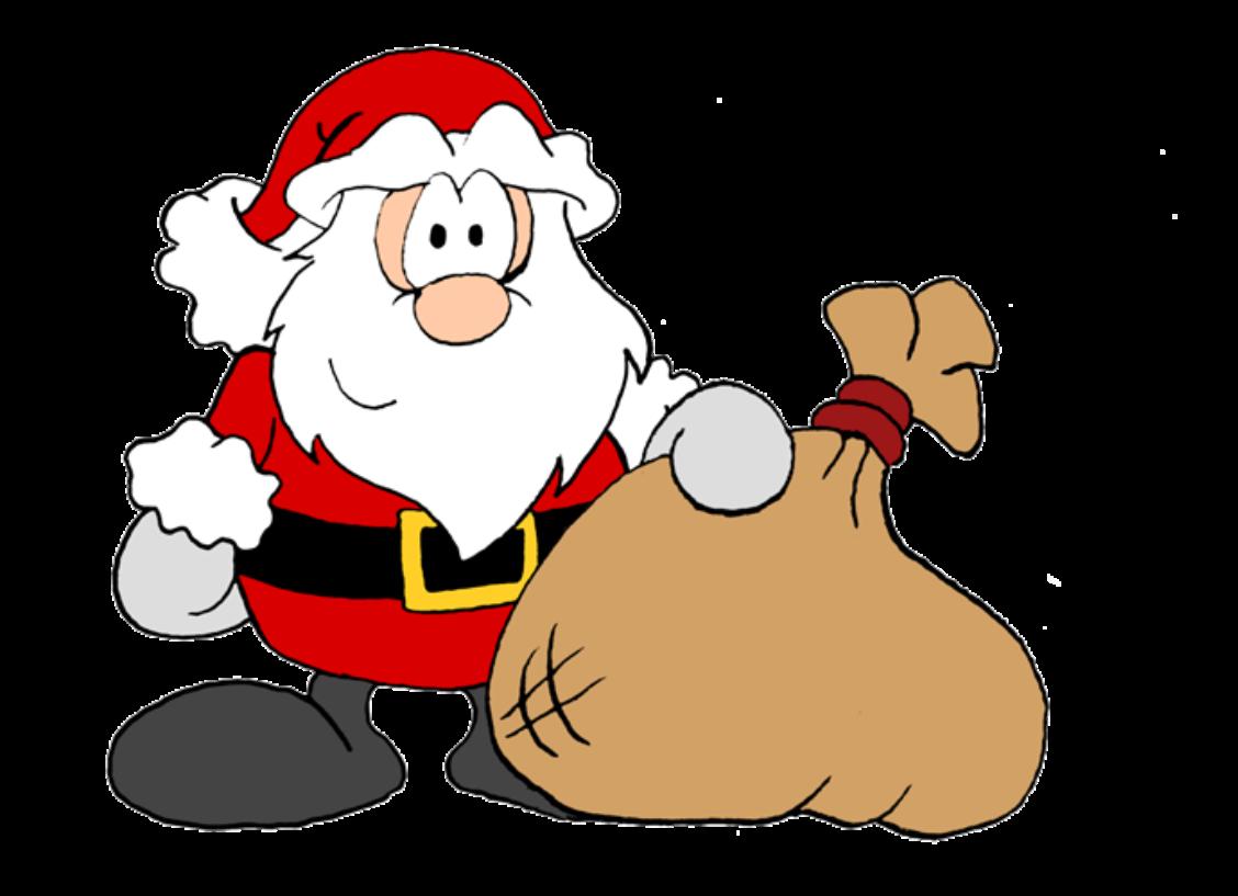 1128x817 Santa Claus Christmas Clip Art