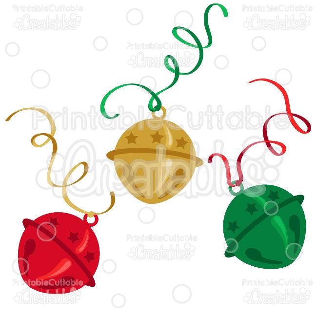 650x650 Christmas Sleigh Bells Svg Cutting Files Amp Clipart
