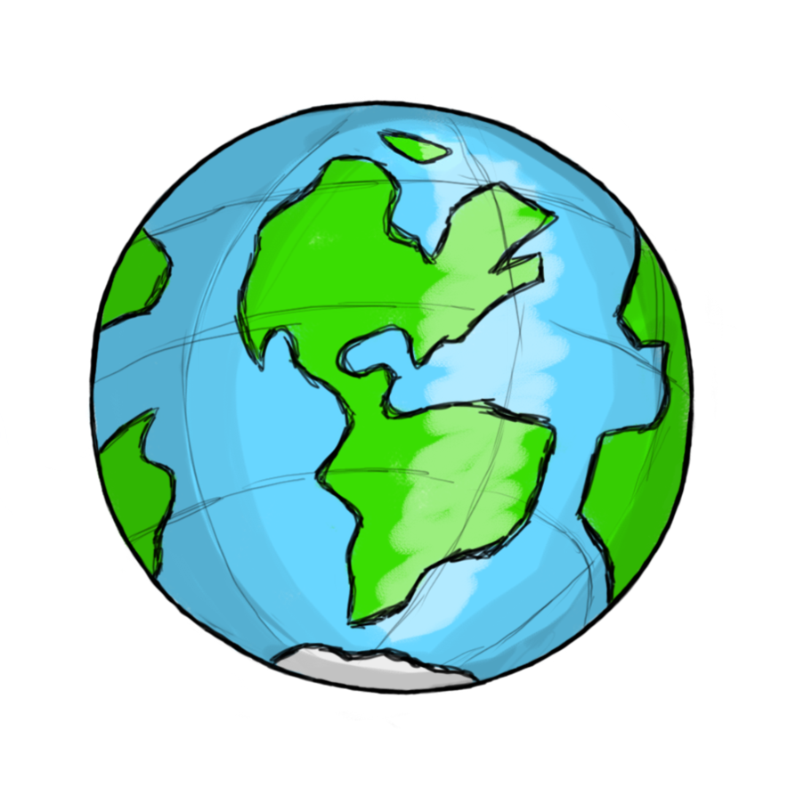 894x894 Collection Of Transparent Globe Clipart High Quality, Free