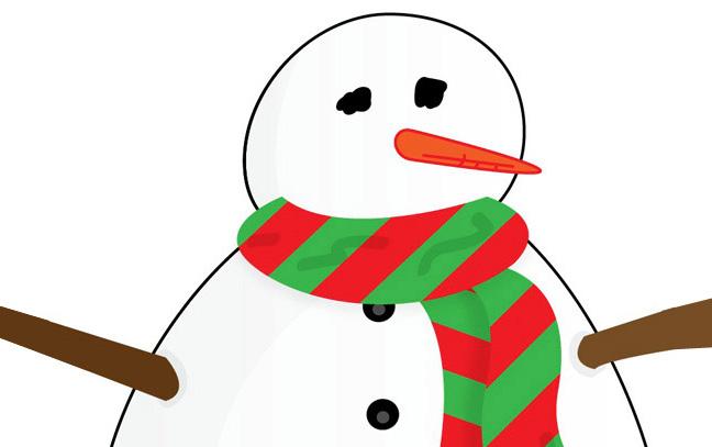 648x407 Easy Christmas Clipart