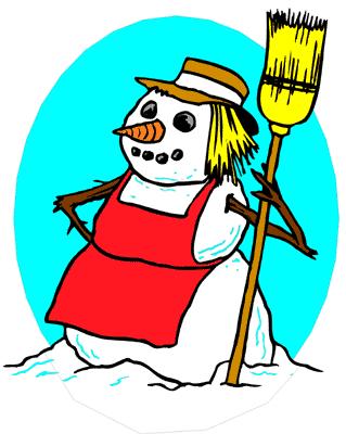 319x400 Free Snowman Clipart