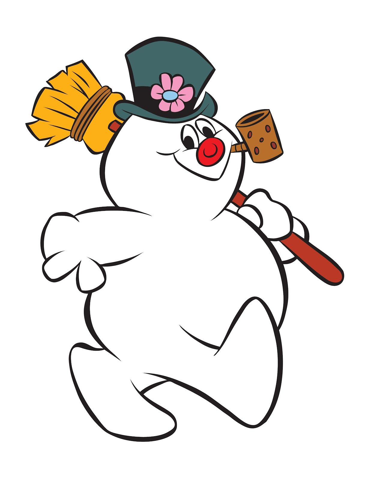 1236x1600 Inspiring Frosty The Snowman Clipart Clip Art Picture Of Christmas